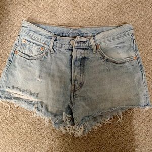 Levi's 501 High Rise Shorts - Wedgie Fit